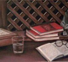 Writing desk by Fannyja