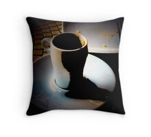 The Morning After Burn Throw Pillow