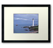 Girdle Ness, Aberdeen Framed Print