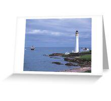 Girdle Ness, Aberdeen Greeting Card