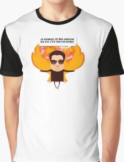 cartoon portrait Minimalist Graphic T-Shirt