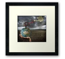 Celebrate earth day...everyday! Framed Print