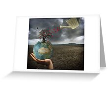 Celebrate earth day...everyday! Greeting Card