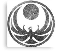 Skyrim Nightingale Symbol - Dark Moon Canvas Print
