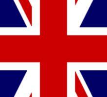 British, Union Jack Flag, 1;2 UK, Blighty, United Kingdom, Portrait, Pure & simple  Sticker