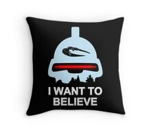 Believe in toasters Throw Pillow