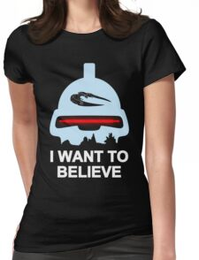 Believe in toasters Womens Fitted T-Shirt
