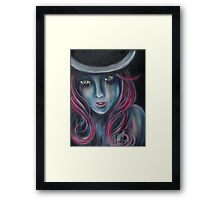 Green Eyed Maiden Framed Print