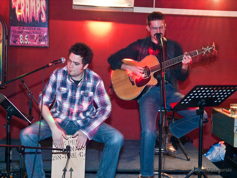 Thom & Frano @ Rock club Praćka by Željko Malagurski