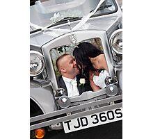 Bride & Groom Photographic Print