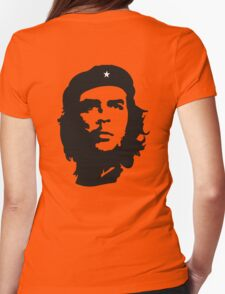 Che, Guevara, Revolution, Marxist, Revolutionary, Cuba, Power to the people! Black on Red T-Shirt