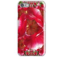 Red tulips I phone 4 iPhone Case/Skin