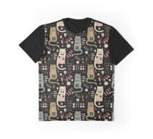Cat Folk  Graphic T-Shirt