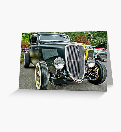 1934 Ford Coupe Greeting Card