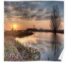 Sundown Ryptsjerker polder Poster