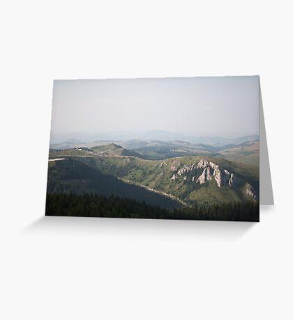 Kopaonik national park Greeting Card