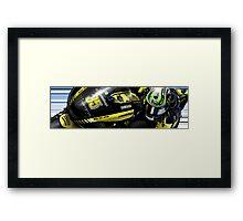 Cal Crutchlow - 2011 Monster Tech 3 Yamaha M1 Framed Print