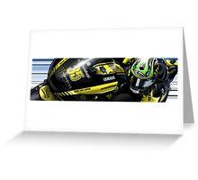 Cal Crutchlow - 2011 Monster Tech 3 Yamaha M1 Greeting Card