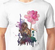 les ballons roses Unisex T-Shirt
