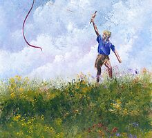 Catch The Wind by Les Sharpe