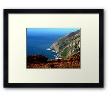 North Devon Coast  Framed Print
