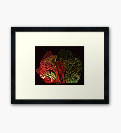 Vegetable Fayre Framed Print