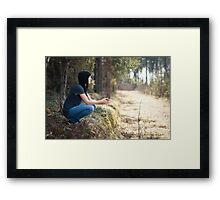 A place to think Framed Print