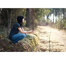 A place to think Photographic Print