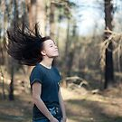 Hair flip by Anete Bauere