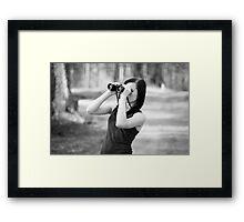 Binoculars Framed Print