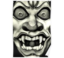 Black & White And Scary All Over Poster