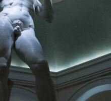 Michelangelo's David Sticker