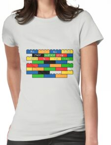 Brick in the wall Womens Fitted T-Shirt