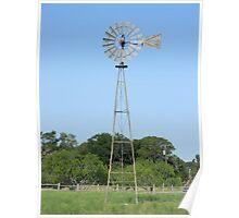 Windmill, Homestead, Tx. Poster