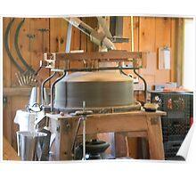 Milling Flour - Homestead, Tx. Poster