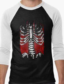 Skeleton Men's Baseball ¾ T-Shirt