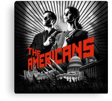 The Americans TV Series Canvas Print