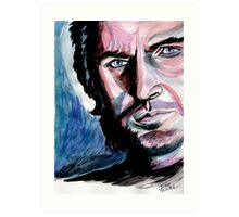 Richard Armitage, sweet dark Guy Art Print