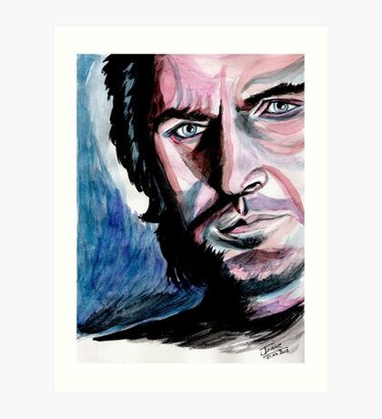 Richard Armitage, sweet dark Guy Art Print