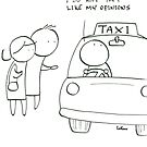 Considerate taxi driver by RobStears