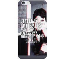 Joan Jett iPhone Case iPhone Case/Skin
