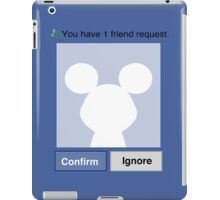 Friends? Micky iPad Case/Skin