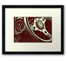 In retrospective...6--- Tipperary Vintage Rally Framed Print