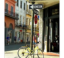 A Beautiful Day In The French Quarter by Sandra Russell