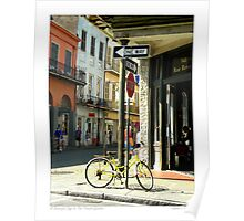 A Beautiful Day In The French Quarter Poster