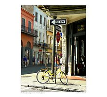 A Beautiful Day In The French Quarter Photographic Print