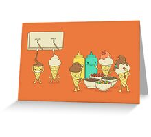Ice Cream Hair Fun Greeting Card