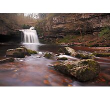 West Burton falls - Yorkshire Dales Photographic Print