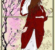 Cherry Blossoms by Nana Leonti