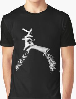 The Sophisticated Smoker Graphic T-Shirt